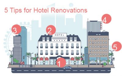 5 Tips for Hotel Renovations